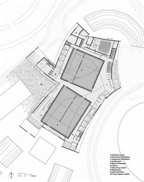 Floor Plans To Add Onto A House by Steven Holl Architects Herning Museum Denmark Opens