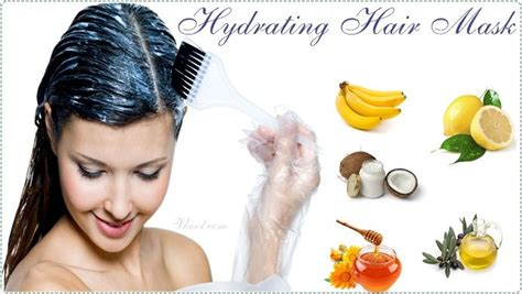Easy Diy Moisturizing Hair Mask The Happier Homemaker Best 25 Hydrating Hair Mask Ideas On Hair Repair Hair Treatment Products And
