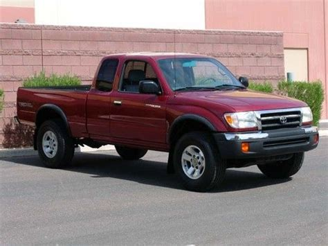 2000 Toyota Mpg Buy Used 2000 Toyota Tacoma Prerunner Trd Road Low