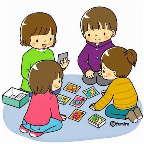 imagenes animadas niños jugando ni 209 os animados jugando cartas buscar con google