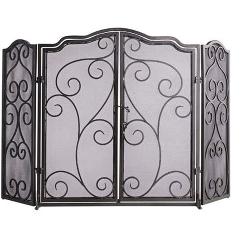 scroll panel fireplace screen pier 1 imports