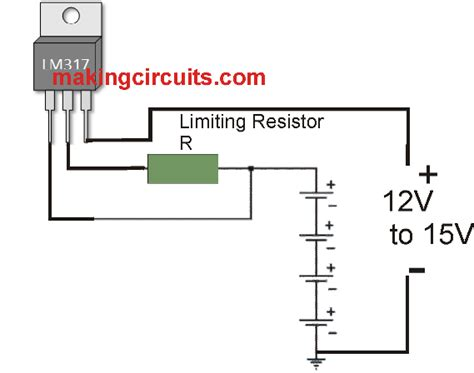 simple charger circuit simple constant current battery charger circuits