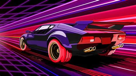 Ultimate Car Wallpaper by Retrowave Car Wallpaper Wallpaper Studio 10 Tens Of