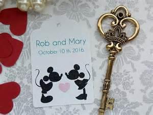 Disney Wedding Favors by Disney Personalized Tags Disney Wedding Theme Disney Wedding