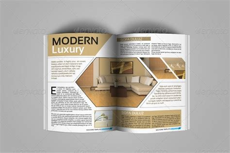 modern magazine template designs templates with creative creative indesign magazine template 50 pages by jazh