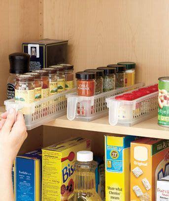Kitchen Pantry Storage Baskets Best 25 Spice Storage Ideas On Spice Racks