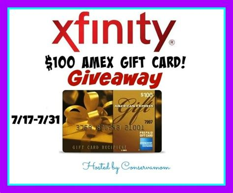 Sanity Gift Card - xfinity gift card giveaway