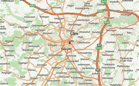 map of ulm germany germany map ulm
