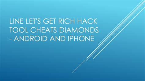mod game get rich android line lets get rich hack tool rar