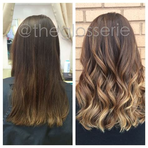 balayage highlights for grey hair before and after balayage highlights for grey hair before and after