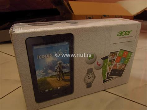 review tablet android acer iconia tab 7 nulis
