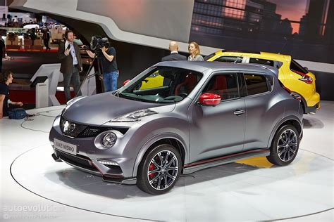 juke nismo nissan juke nismo rs facelift debuts in geneva with 218 hp