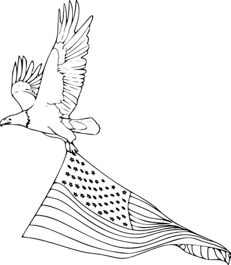 philippine eagle coloring page philippine eagle drawing flag