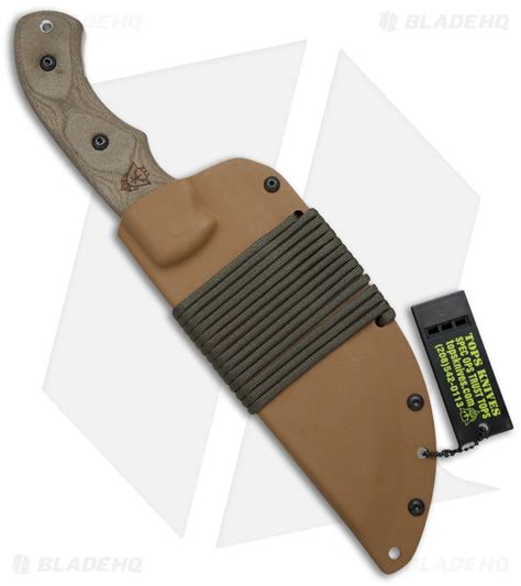 tom brown tracker 1 tops knives tom brown tracker 1 fixed blade knife 6 375