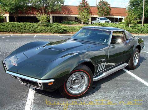 1969 corvette for sale 1969 corvette 427 390hp for sale
