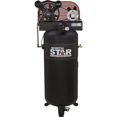 free shipping northstar electric air compressor 3 hp 60 gallon vertical tank ebay