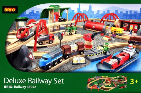 where can i buy brio train sets brio deluxe railway set 33052 toot toot toys
