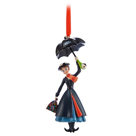 mary poppins ornament disney authentic poppins 50th anniversary ornament gift ebay