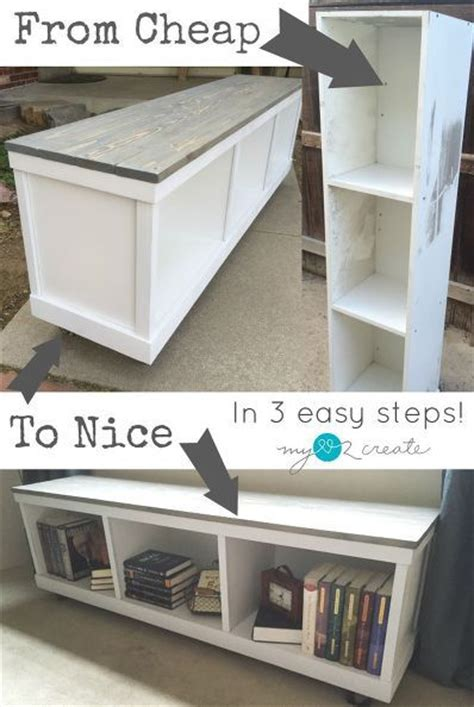 bookshelf into bench 25 best ideas about laminate cabinet makeover on pinterest painting laminate