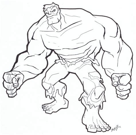 coloring page incredible hulk free printable hulk coloring pages for kids