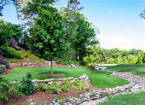 Landscape Design For Small Spaces Ansley Golf Course Northway Landscaping