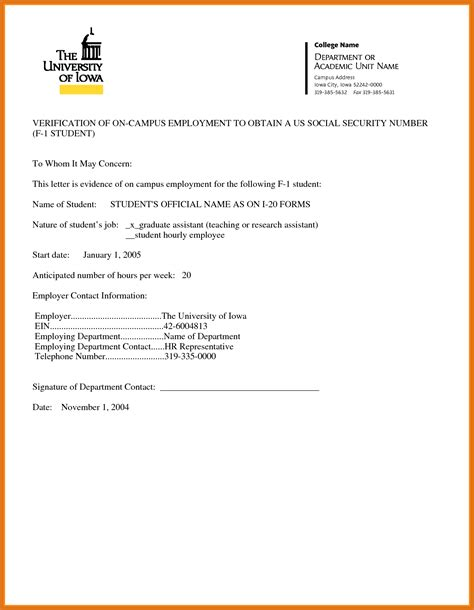 Proof Of Partnership Letter proof of employment letter letter format business