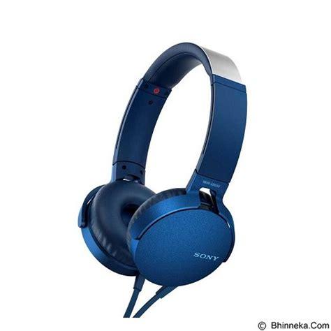 Jual Headphone Sony Bass Mdr Zx770 Ap Mic Murah jual headphone portable sony bass headphone mdr xb550ap blue original diskon meriah