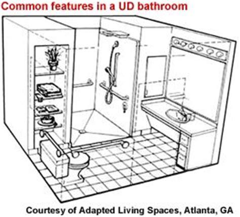 universal design bathroom floor plans universal design floor plans gurus floor