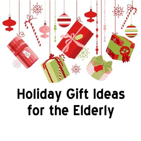 holiday gift ideas for the elderly bel aire senior living