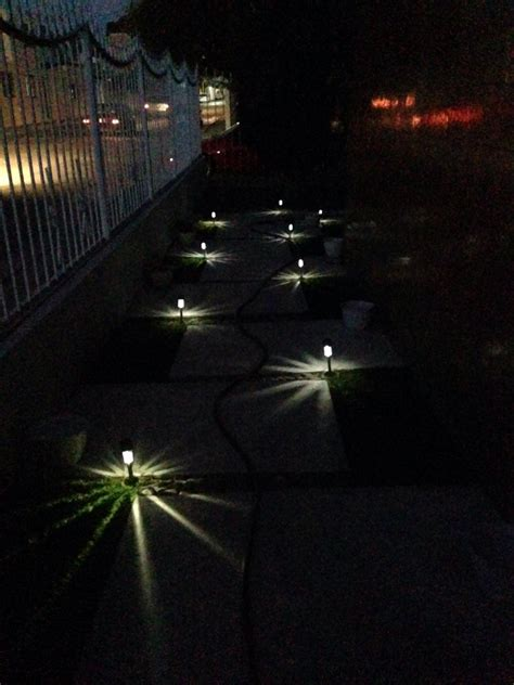 luces de jardin l 225 mpara solar luces luz jard 237 n exterior led 44 00 en