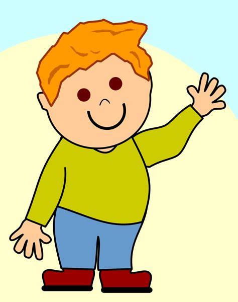 Little Boy Animated Clipart Best Boy Images Free