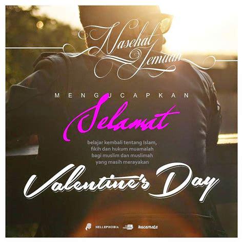 buat muslim  ikut merayakan hari valentines day wajib