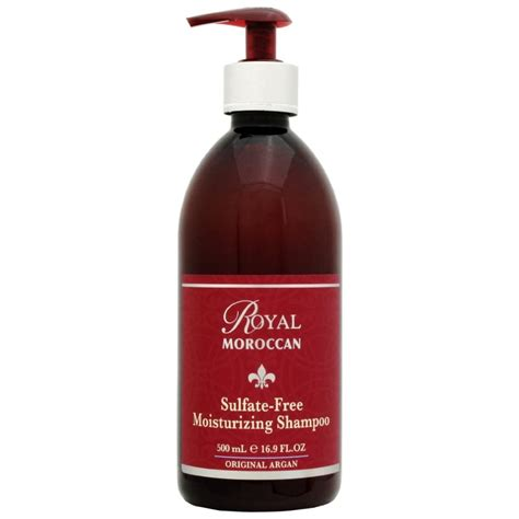 highest rated sulfate free shoo royal moroccan sulphate free moisturising shoo 300 ml