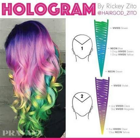 pravana color formulas pravana hologram formula gotta try this hair hair