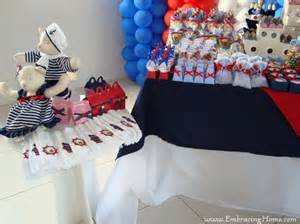 Nautical Baby Shower Decorations For Home by Nautical Baby Shower Invitations Decorations Themed