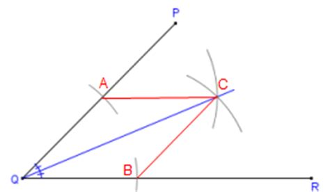 You Can Bisect An Angle Using The Paper Folding Technique - how to bisect an angle with compass and straightedge or