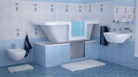 vasca da bagno sportello sovrapposizione vasca con sportello