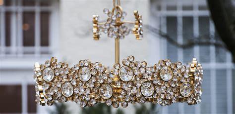 golden chandelier schlicht designm 246 bel - Goldene Kronleuchter