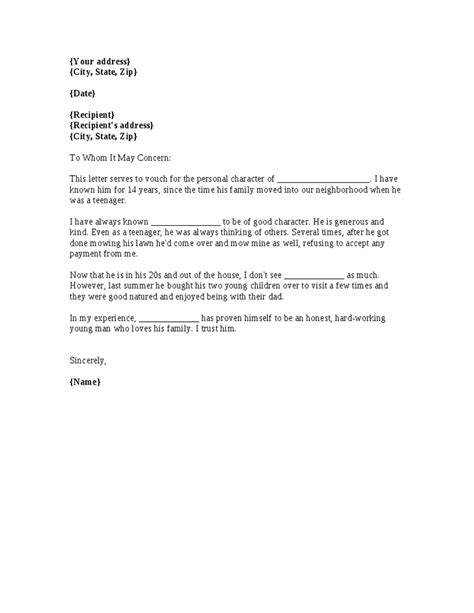 Written Commitment Letter Letter Of Commitment Format Best Template Collection
