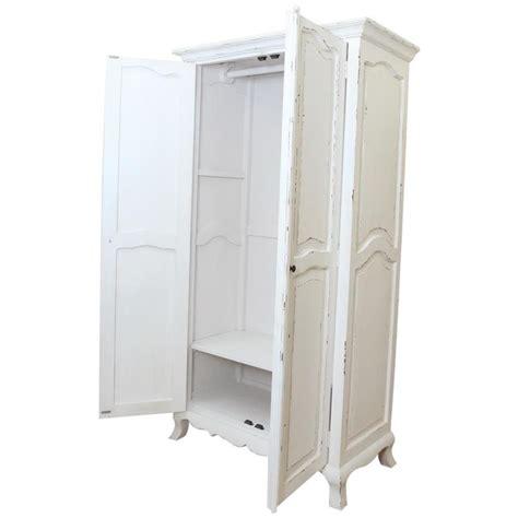armadio bianco shabby chic armadio shabby chic bianco 102x190x52 codice axsh 20
