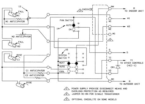 two stage thermostat wiring diagram efcaviation