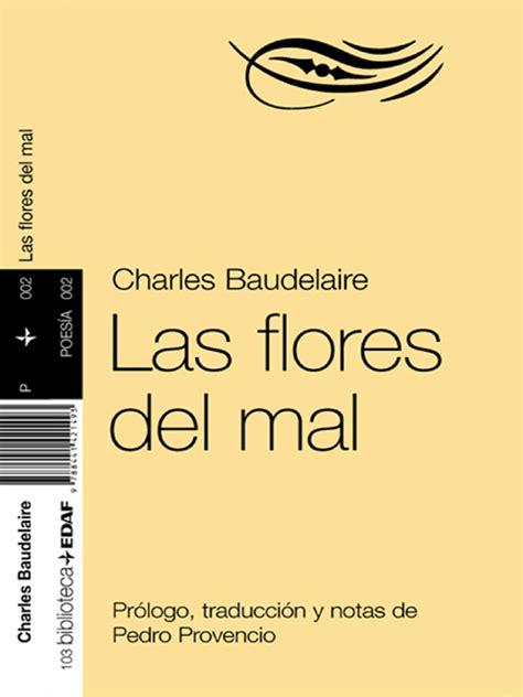 las flores del mal 840801322x las flores del mal read book online
