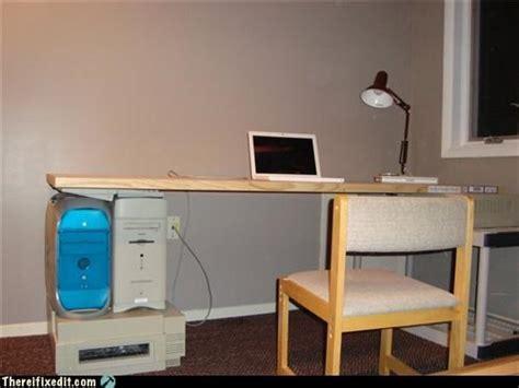 Build Your Own Computer Desk More Random Photos Humor In Tech Daves Computer Tips