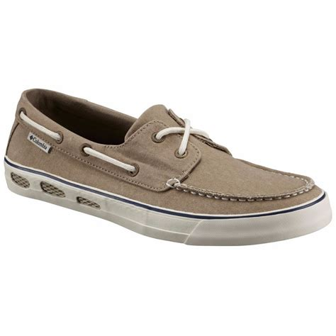 boat shoes canvas men s vulc n vent canvas boat shoes fontana sports