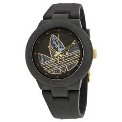 adidas aberdeen black and gold silicone