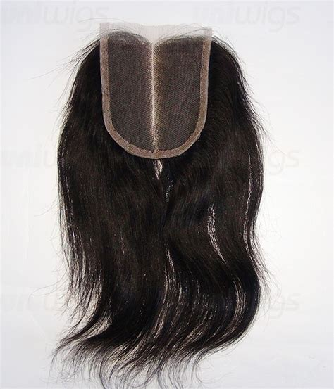human hair lace closure 3 5 quot x4 quot natural straight brazilian remy human hair lace