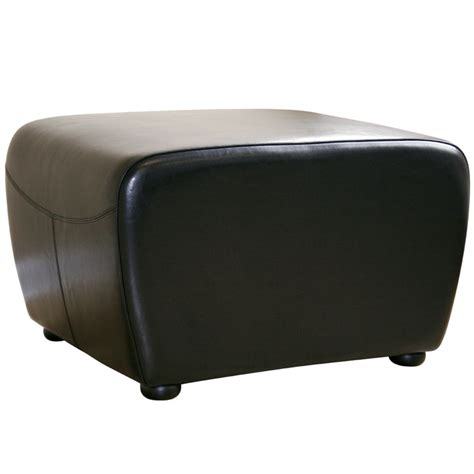 cheap black ottoman wholesale interiors bicast leather ottoman black y 051