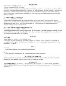 A Resume Template by Free Sle Resume Template Cover Letter And Resume Writing Tips