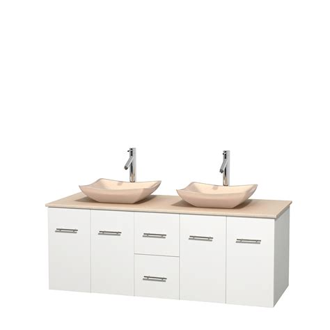 60 in bathroom vanity wyndham collection wcvw00960dwhivgs2mxx centra 60 inch