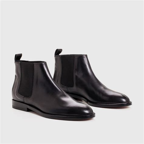 black leather chelsea boots kayne chelsea boot in black leather